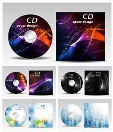 唯美光盘包装psd素材下载