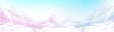 彩色天空云层素材