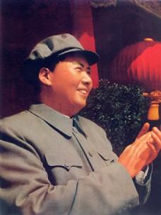 毛泽东主席国庆