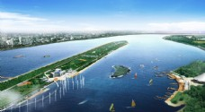 河滩喷泉景观设计图片