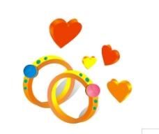 心形   戒指图片