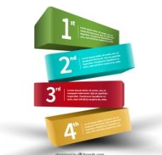 立体分类信息设计图片
