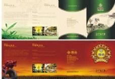 茶叶产品宣传折页