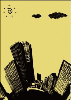ai矢量图城市