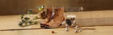 淘宝复古女鞋促销海报设计PSD素材