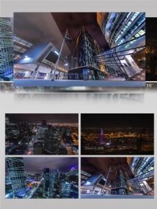 墨尔本城市夜景实拍宣传