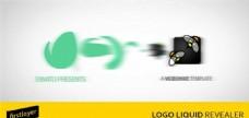 液体风格logo演绎动画AE模版