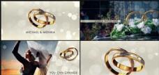 婚戒之爱婚礼动画AE模板