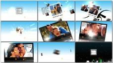 在天空中飞翔展示的照片