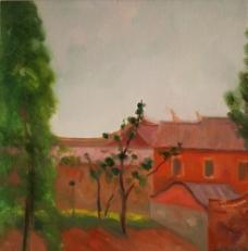 冯巍《家园之四》油画图片