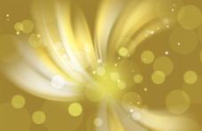 金色柔光点背景图片