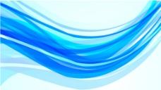 蓝色线条背景图片