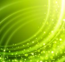 绿色粒子背景图片