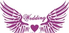 婚庆logo翅膀图片