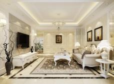 简洁欧式家装设计图片