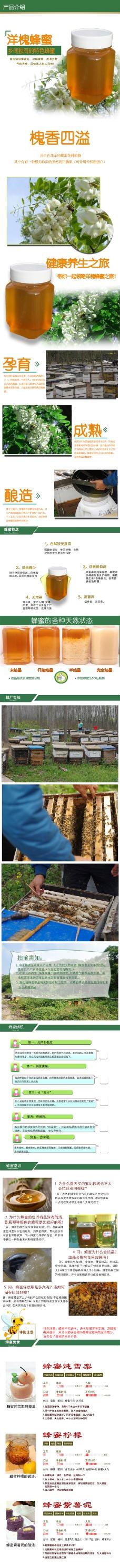 蜂蜜详情页  750详情页