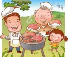 欢乐家庭 家庭生活 矢量 EPS_072