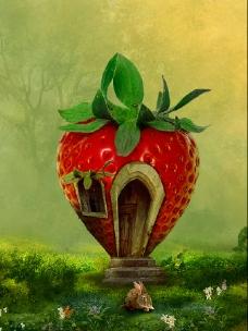 草莓屋创意设计
