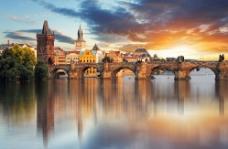欧洲建筑 古建筑 合层图片