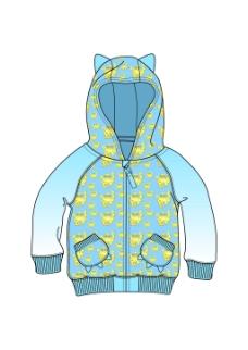 儿童外套设计
