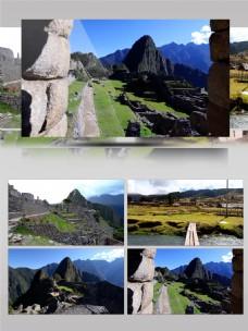 4K高清马丘比丘秘鲁路素材实拍