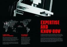 工业画册内页