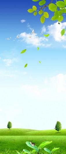 春天展架图片