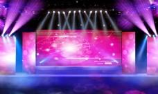 企业晚会创意舞台舞美效果图