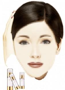 化妆品模板图片