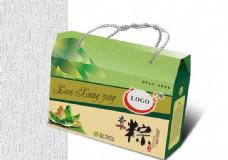 端午节粽子礼盒包装设计矢量素材