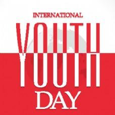 青年节广告背景图片