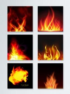 火焰主图背景素材