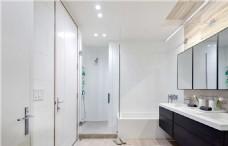 五星级酒店高端浴室装修效果图