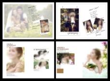 婚纱写真相册模板