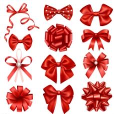 红色蝴蝶结图片