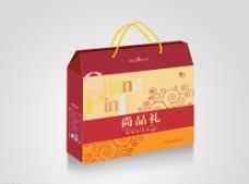 礼盒包装设计 分层平面图图片