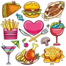 食品矢量素材