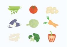 蔬果设计图