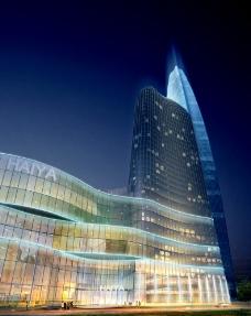 金融中心夜景图片