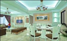 饭厅客厅装饰图图片
