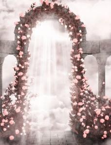 浪漫影楼背景模板图片
