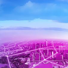 大气现代城市背景