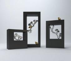 中式装饰品模型