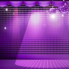 紫色科技模板
