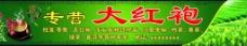 绿色中国风大红袍门头