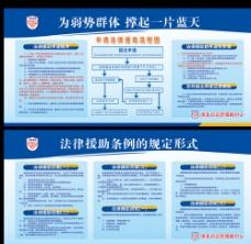 法律援助展板图片