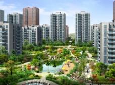 马华小区环境设计图片