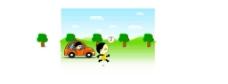 保护环境动画
