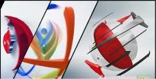 干净优雅企业logo展示模版
