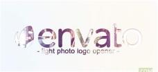 照片切换Logo标志开场动画模板